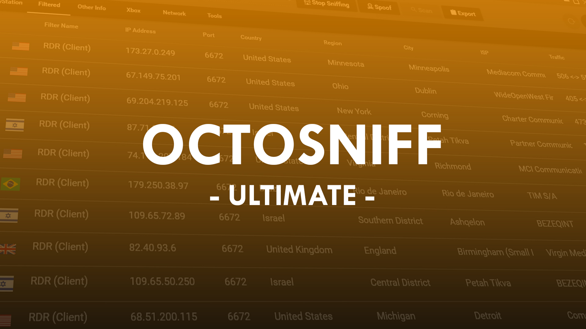 OctoSniff - The Ultimate